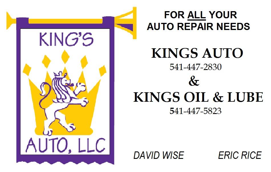 King's Auto logo